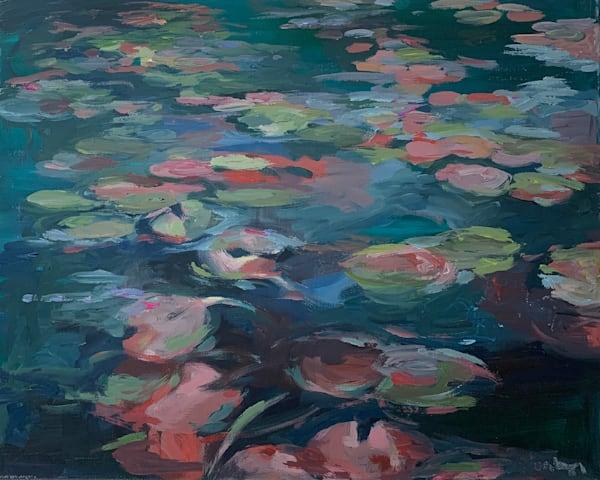 Everglades II Acrylic Painting by Steph Fonteyn