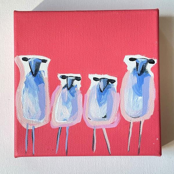 Mini Sheep One Of Each 6 X 6 | Lesli DeVito