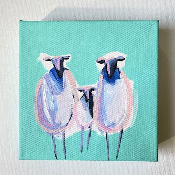 Mini Sheep Baby Makes Three | Lesli DeVito