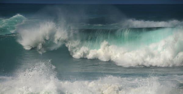 Ocean Wave Seascape I Photography Art | Ruth Burke Art
