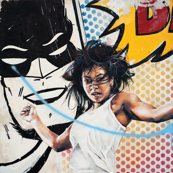 Bat Girl Art | Jeff Schaller