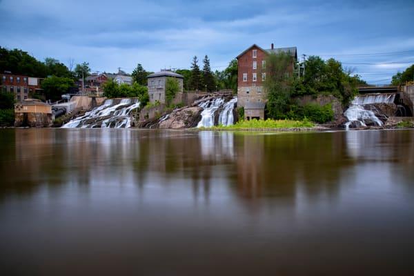 Vergennes Falls - Vermont waterfalls fine-art photography prints