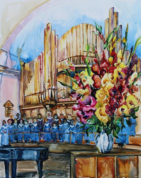 Mc Dougall United Church   Karen Bishop Artist