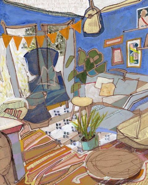 .Melanie's Home In Brighton, No. 01 | Erika Stearly, American Artist
