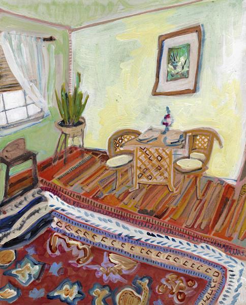 .Corinna's Home In Virginia, No. 01 | Erika Stearly, American Artist