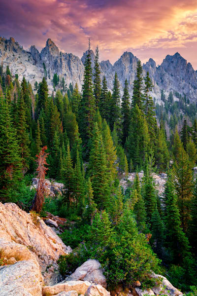 Morning in the Sawtooths II | Shop Photography by Rick Berk