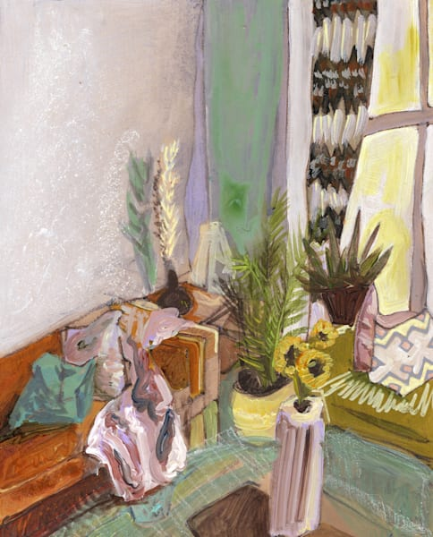 .Amy's Home In Southeast London No. 01   Erika Stearly, American Artist