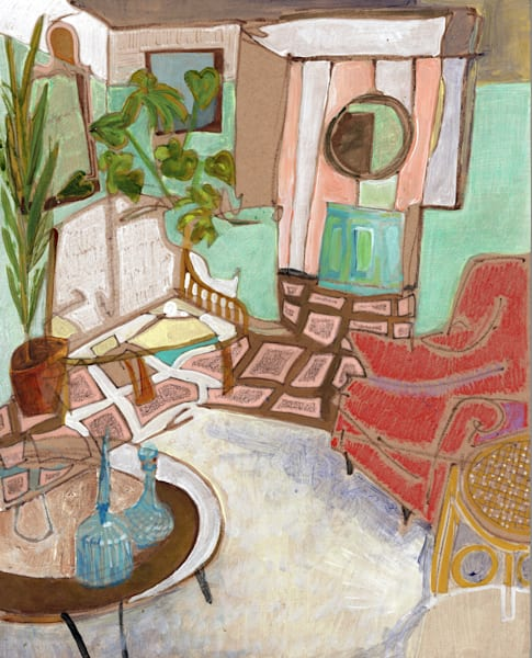 .Lilly's Home In Orlando No. 03   Erika Stearly, American Artist