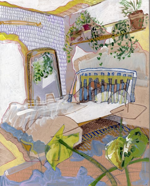 .Erin's Home In Vancouver, No. 07   Erika Stearly, American Artist