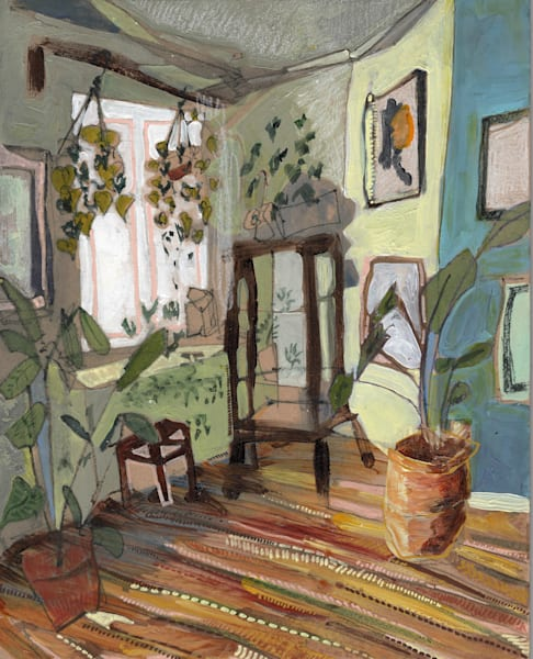 Saska's Home In Leipzig No. 03   Erika Stearly, American Artist
