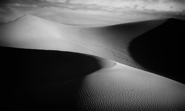 Death Valley Shadows 22579bw