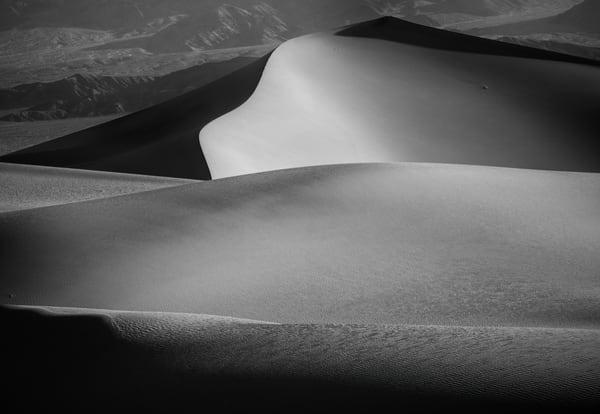 Death Valley Hills 22570bw