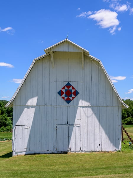 Indiana Quilt Barn 1230 18x24