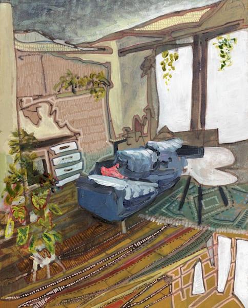 Saska's Home In Leipzig No. 02   Erika Stearly, American Artist