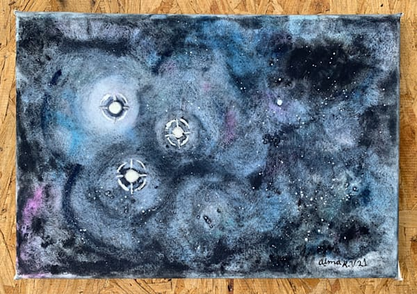 Star Forming Region Art | Alma Ruiz Velasco