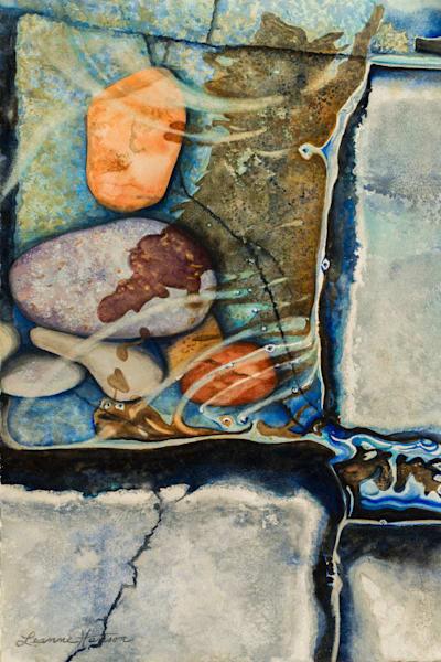 Rocks And Ripples Art   Leanne Hanson Art