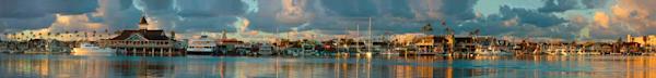 Balboa Pavilion Panorama Art | Shaun McGrath Photography