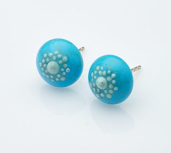 Howlite Stone Earrings
