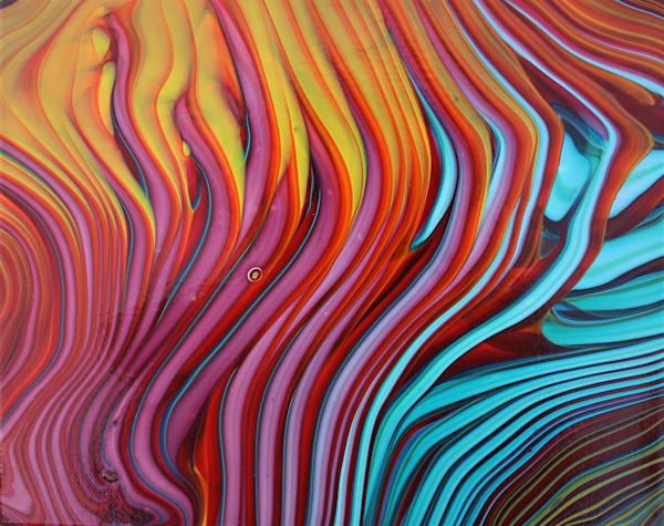 Stripes Of Joy  Art | Kimberlykort