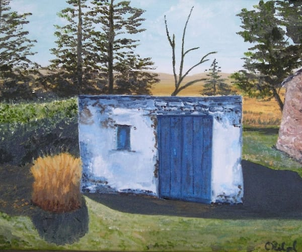 Milk House Art | Chuck Hilpl Fine Art