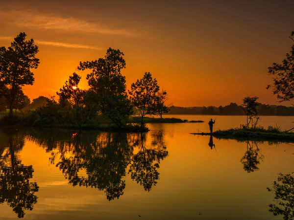 Sunrise at Jacobson Park