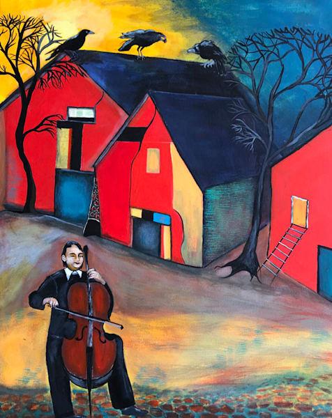 To Crow Or Not To Crow Art | Judith Visker Art