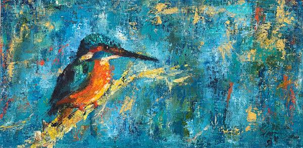 Kingfisher Ii Art | Marian Pham Art LLC