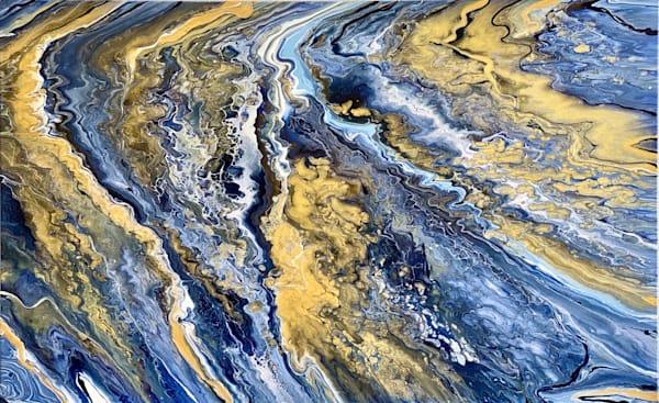 The Surging Waves Art   Kimberlykort
