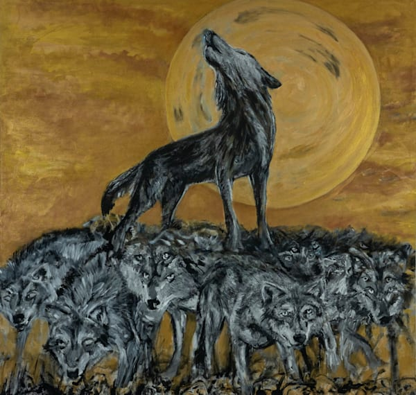 The Strength Of The Wolf Art | Blac Rhino Art Group