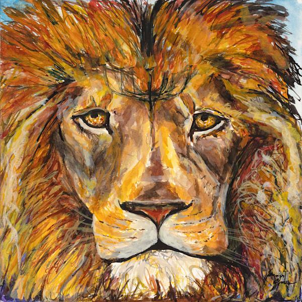 """Lion of Judah : Menorah"""