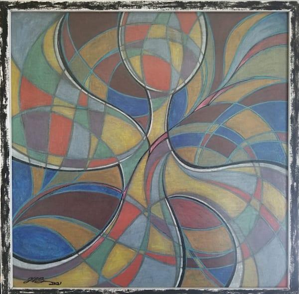 Ribbon In The Sky, 2021 Art   Kim P. Bartholomew
