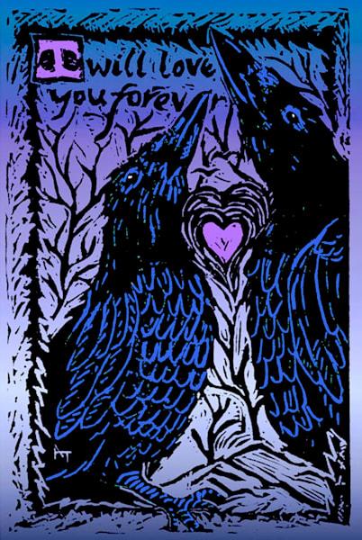 Alaska Love Ravens by Amanda Faith Thompson
