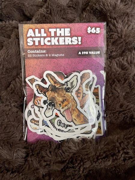 All The Stickers   Water+Ink Studios