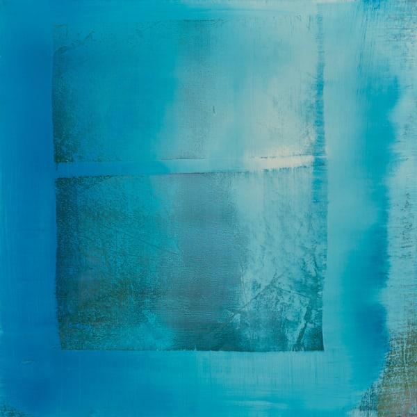 Blue Window Art | Ingrid Matthews Art
