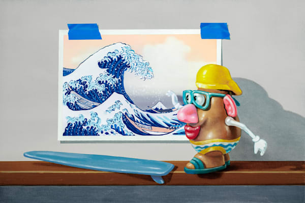 Catching The Great Wave Art | Richard Hall Fine Art