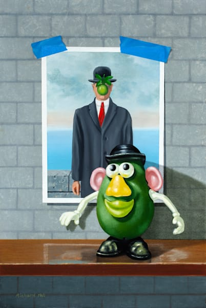 Green With Envy Art | Richard Hall Fine Art
