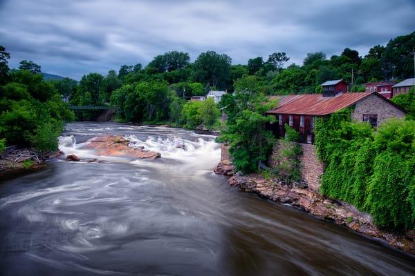 Keesville Waterfall - Adirondack Mountains fine-art photography prints