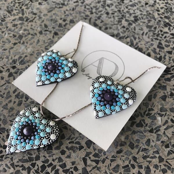 Pendants + Earrings Set (H)   Amy Diener