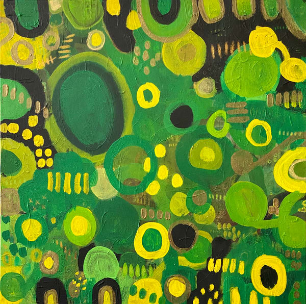 Kiwi Mojito  Art   Abstraction Gallery by Brenden