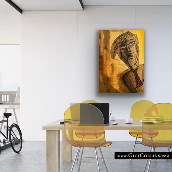 """Derick"" Signed Limited Edition Art   Gigi Collins Art"