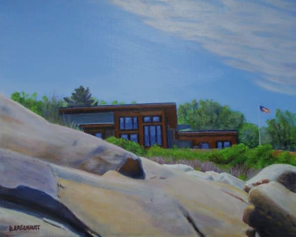 Cape Ann Rocks Ii Art | The Art of David Arsenault