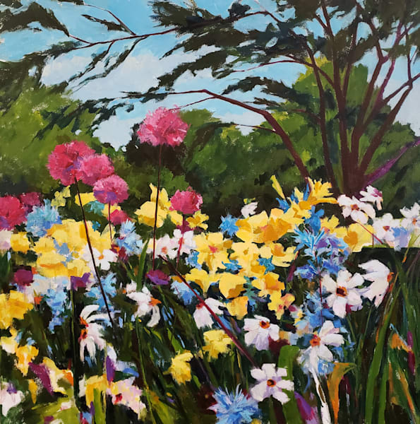 Longwood Gardens, Allium Ii Art | Jenn Hallgren Artist