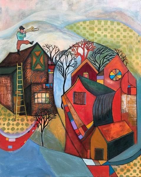 Seventy Five On Their Way Art | Judith Visker Art