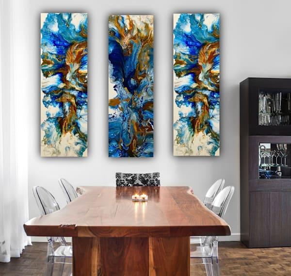 Expanding The Mind Triptych Art   Kimberlykort