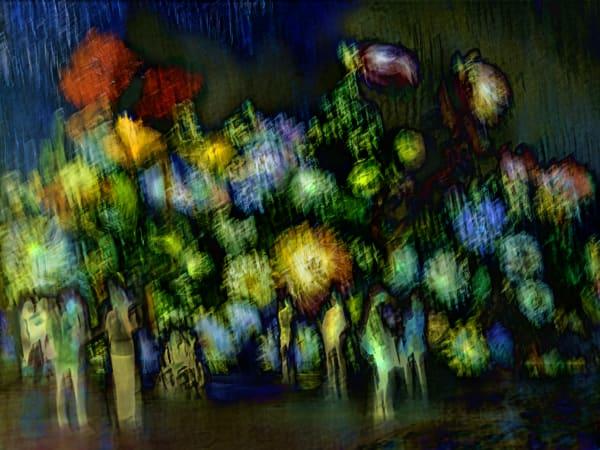 Gogh Garden Walk Art | KJ's Studio