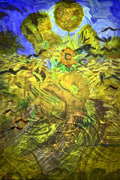 Gogh Sunflowers Art | KJ's Studio
