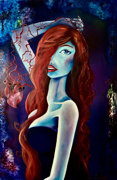 The Weary Man Eater Art | Metaphysical Art Gallery