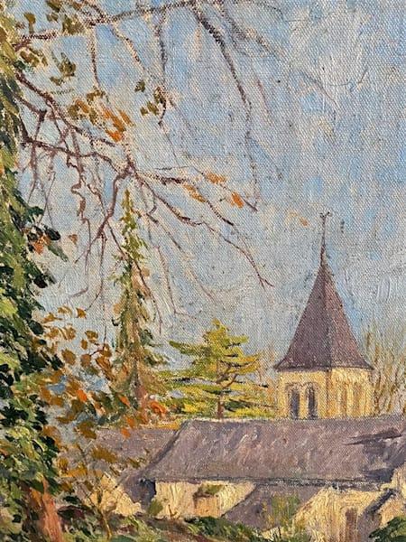 L'eglise St. Germaine Art | CVCAF Gallery