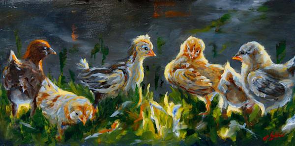 Cheeky Chicks Art   Jamie Lightfoot, Artist