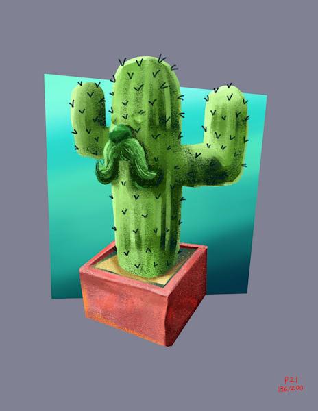 Tony Cactus Art   Matt Pierson Artworks